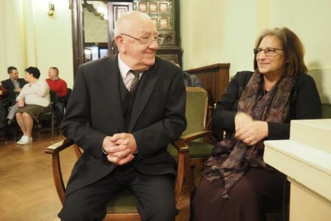 Andrzej Górszczyk z żoną
