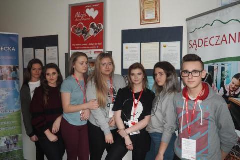Wójt Łącka i sądeckie szkoły włączają się w akcję Serce-Sercu