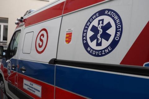 Wypadek w Jodłowniku. Dziecko potrącone przez busa