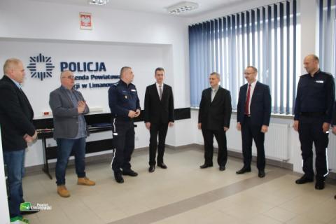 Policja-Limanowa-pożegnanie