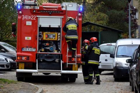 wezwał strażaków do spalonego obiadu