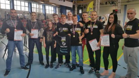Klub Fight House wykopał aż pięć medali w Mistrzostwach Polski!