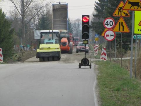 remont drogi w Siołkowej