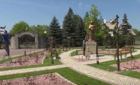 ogród św. Rity