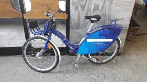 Rower z Warszawy