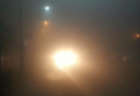 Smogowa mgła nad Barbackiego