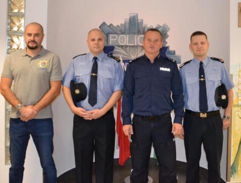 Co robią policjanci z Irlandii w sądeckiej komendzie policji?