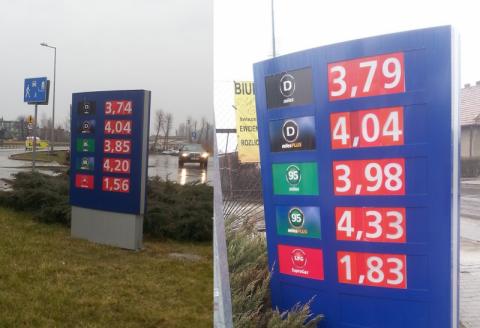 Wszędzie naokoło taniej. Ceny paliw nadal budzą podejrzenia