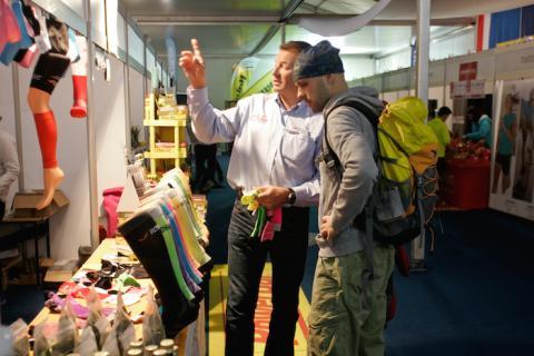 Targi Expo podczas Festiwalu Biegowego w Krynicy