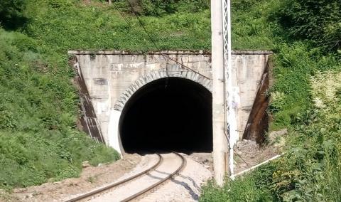 Wiecie jaką ma długość tunel kolejowy w Kamionce Wielkiej? [WIDEO]