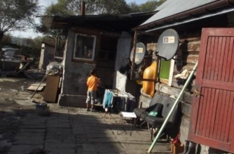 osiedle romskie w Maszkowicach