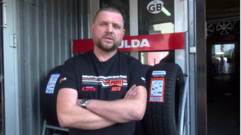 Urban Wojciechowski z firmy Profi Auto Serwis Uvex z Paszyna o oponach zimowych