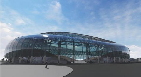 Nowy Sącz: To nie fatamorgana tylko nowy stadion Sandecji! [WIDEO]