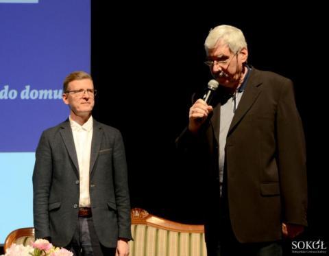 prof. Wojciech Kudyba i Jacek Mazanec