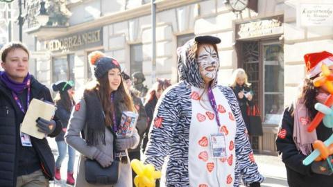 Nowy Sącz pobił rekord - 104 tysiące złotych dla WOŚP