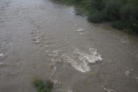 Nowy Sącz: mieszkańcy spoglądają z niepokojem na rzeki
