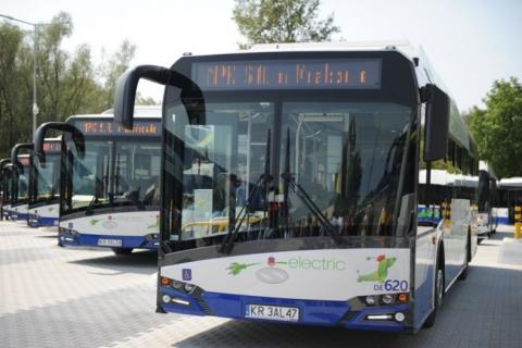 autobusy elekrtryczne w Krakowie