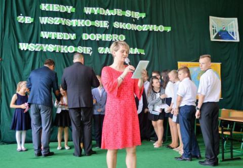 Zakończenie roku szkolnego w Koniuszowej