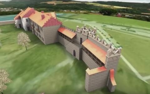 Wiesz jak wyglądał zamek w Nowym Sączu przed zniszczeniem? Obejrzyj i powiedz, czy warto walczyć o jego odbudowę! [WIDEO]