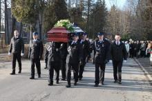 Pogrzeb Wawrzyńca Wójcika