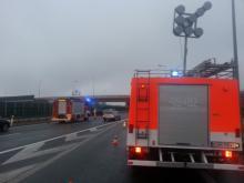 Karambol na autostradzie A4. Cztery osoby, w tym dzieci zostały ranne