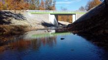 Nowy most w Szymbarku