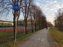 ścieżka rowerowa EuroVelo11, fot. Iga Michalec