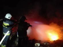 Pożar w Korycznie