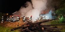 Barcice: Budynek płonął jak zapałka. Zostały tylko zgliszcza