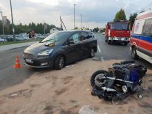 Jeden wypadek na Węgierskiej a sparaliżowane całe Biegonice i pół Starego Sącza