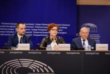 Fakro_ konferencja prasowa w Parlamencie Europejskim