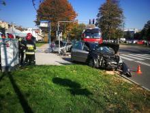 Z ostatniej chwili: wypadek na ulicy Barskiej. Trwa akcja ratunkowa