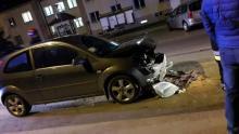 W Korzennej zderzyły się trzy samochody. Są ranni [ZDJĘCIA]