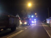 Pożar w Piwnicznej. Palił się dom przy ul. Węgierskiej