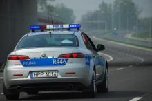 Ekstremalna sytuacja na autostradzie. Policjanci eskortowali na sygnale rodzącą kobietę