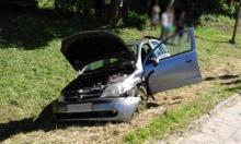 I znów auto wypadło z drogi. I znów na DK-75…