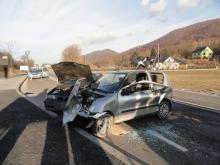 wypadek w Maciejowej