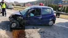 Paszyn. Cztery osoby w szpitalu po zderzeniu dwóch aut