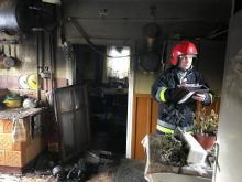 Kolejna tragedia. W pożarze domu w Skrudzinie zginął mężczyzna