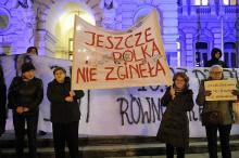 Manifestacja kobiet