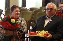 Diamentowe i złote małżeńskie szczęście kwitnie w Nowym Sączu