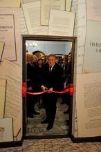 Otwarcie wystawy w Muzeum Ziemi Limanowskiej Fot. Lilianna Król