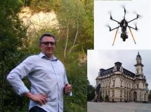 """Nowy Sącz: """"Samorządowe"""" drony nad miastem. Zajrzą do kominów"""