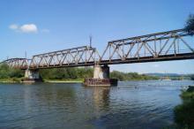 Kratownicowy most kolejowy w Nowym Sączu