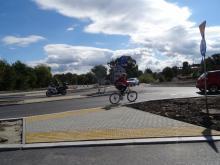 Rondo pod zamkiem - ścieżka rowerowa