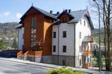 Nowy budynek komunalny w Krynicy