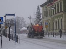 Zima przypuściła atak, fot. Iga Michalec
