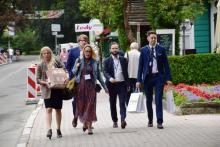 Forum Ekonomiczne: na Deptaku coraz więcej gości