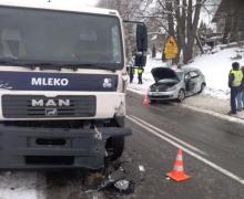 Jak doszło do wypadku w Podolu-Górowej? Ranny Ukrainiec trafił do szpitala