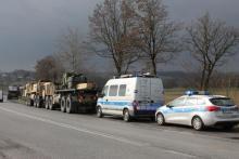 W Gnojniku zderzyły się samochody amerykańskiej armii. Ranni są dwaj żołnierze